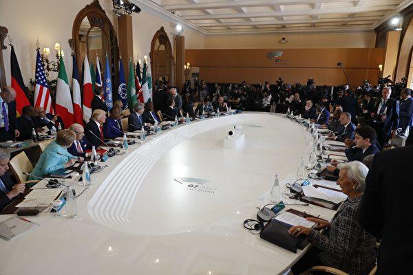 G7次日 各国领袖将与非洲元首讨论难民议题
