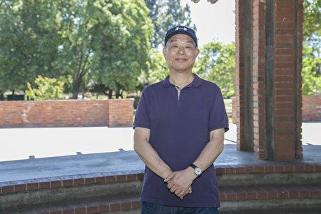 Kevin An_9885:退休的硅谷工程师Kevin An回忆李洪志师父1996年首次来美西讲法的情形。(曹景哲/大纪元)