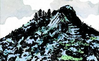 《日常蓝调》插图,徐至宏作品。(大块文化提供)