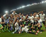皇马以3分优势力压巴萨,时隔五年,再度获得西甲冠军。 (Aitor Alcalde/Getty Images)