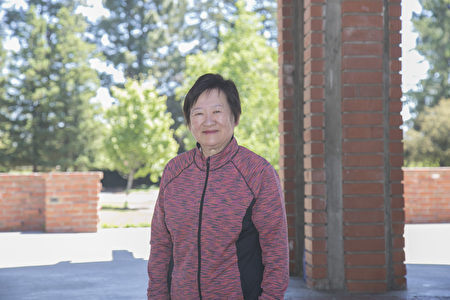 Rose Wang_9896:旧金山中医师Rose Wang女士回忆李洪志师父1996年首次来美西讲法的情形。(曹景哲/大纪元)