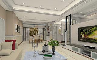系统家具融合室内设计。实例一、芦竹宜诚国玥客餐厅(3D图)。(爱菲尔提供)