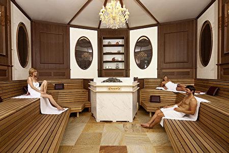 坐落在巴符州辛斯海姆的「辛斯海姆洗浴世界(Badewelt Sinsheim)」擁有世界最大桑拿浴室,被列入了吉尼斯世界紀錄。(辛斯海姆洗浴世界提供)