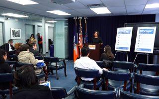 紐約市消費者事務局局長Lorelei Salas。 (安心/大紀元)