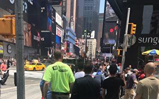 时代广场汽车撞人1死22伤 市长:非恐袭