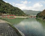 位于台湾宜兰县员山乡枕山村的大礁溪山麓的望龙埤。(筱林子提供)