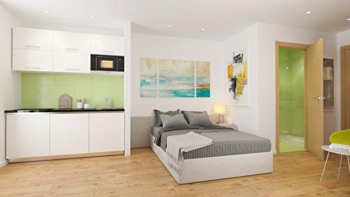 利物浦学生公寓凤凰阁,台币250万可入手。(五都海外置业提供)