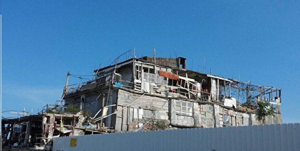 """台版""""霍尔移动城堡""""已成为台东最红的房屋。(谢光/大纪元)"""