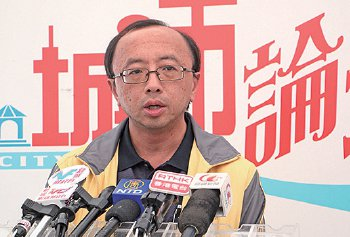 港大法律学院首席讲师张达明代表法轮功学员诗曙明向高院提出上诉,助诗获胜诉。(大纪元资料图片)
