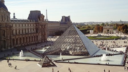 巴黎卢浮宫。(139904/ CC/Pixabay)