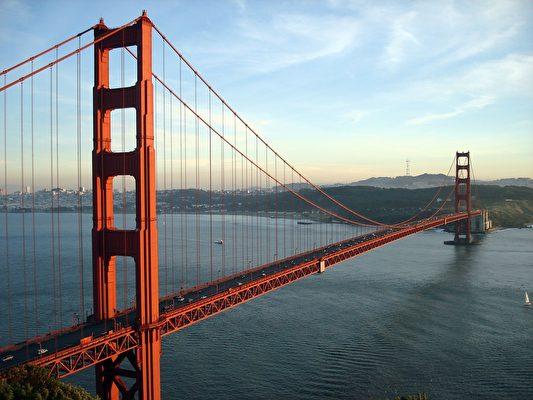 旧金山金门大桥。(Doodles43/CC/Pixabay)