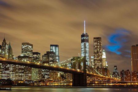 纽约布鲁克林大桥。(Pexels/CC/Pixabay)