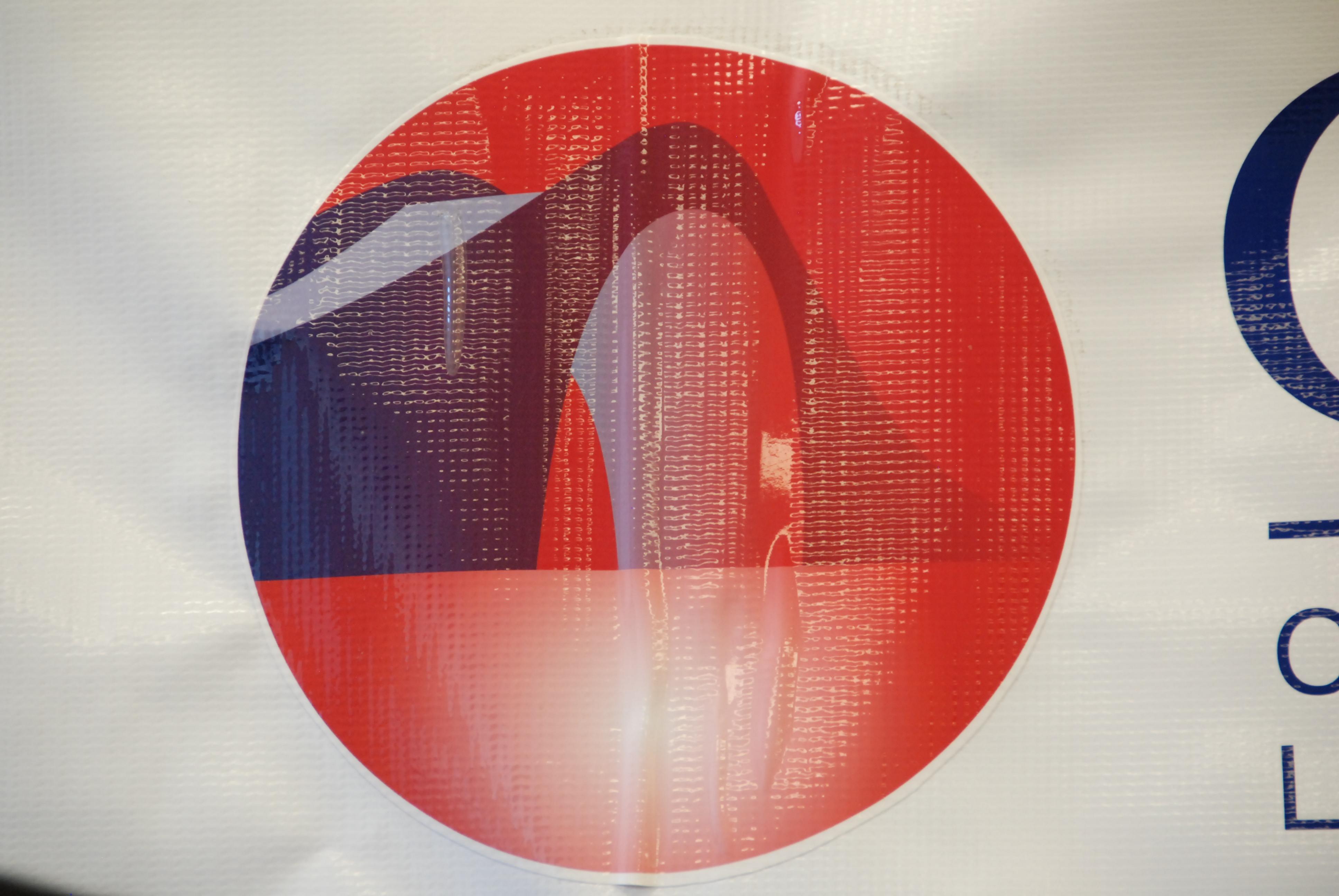 华越柬寮法律援助中心标志。(伊铃/大纪元)