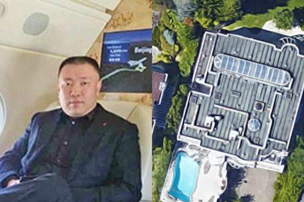 42岁大陆富豪苑刚(Gang Yuan,左)于2015年5月在加拿大西温豪宅内遭分尸。(大纪元合成)