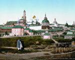 谢尔盖圣三一修道院(维基百科公有领域)