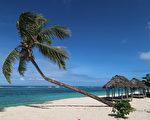 萨摩亚的Saleapaga海滩。(Phil Walter/Getty Images)