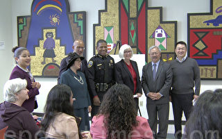 """为了更好地帮助处于高风险致死率中的家暴受害者,6月6日旧金山开始了一项新计划""""Domestic Violence High Risk Program""""。(大纪元)"""