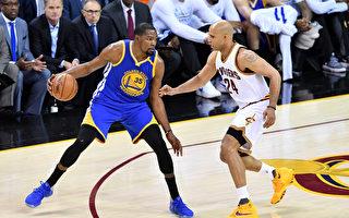 NBA总冠军赛第三战 勇士险胜骑士 听牌