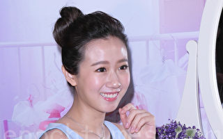 方志友於2017年6月8日在台北接任美妝店獨家品牌全新代言人。(黃宗茂/大紀元)