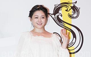 艺人大S(徐熙媛)6月13日在台北出席饭店开幕记者会。(陈柏州/大纪元)