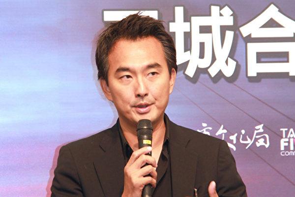 蔡岳勋导演出席活动资料照。(台北市电影委员会提供)