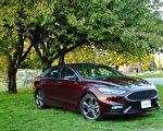 2017 Ford Fusion Sport。〈李奥/大纪元〉