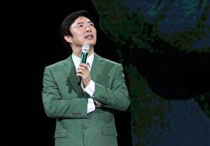 費玉清(圖)個人首次台北攻蛋演唱會完美落幕,圖為6月18日台北場次影像照。(寬宏藝術提供)