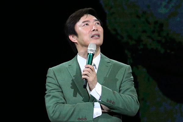 费玉清(图)个人首次台北攻蛋演唱会完美落幕,图为6月18日台北场次影像照。(宽宏艺术提供)
