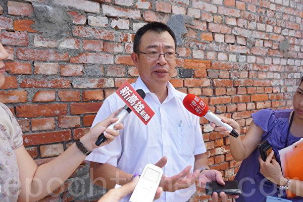 石化高值化办公室执行长黄国维表示,大林蒲不可能再盖石化专区。(李怡欣/大纪元)