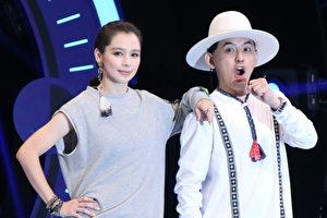 節目《K歌大明星》特別邀請徐若瑄和黃子佼前來錄影。(中視提供)