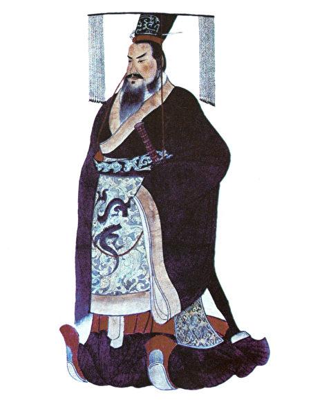 秦始皇像。(公有领域)