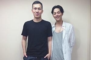 鋼琴家T.L.江天霖(右))邀請學長龔鈺祺(左)擔任獨奏會演出嘉賓。(環球音樂提供)