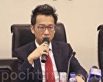 交銀國際研究部主管洪灝。(余鋼/大紀元)