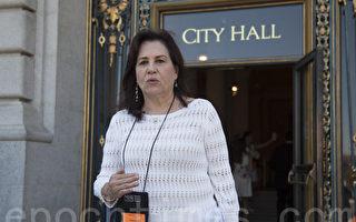 社区资源中心主任杜丽莎是旧金山大麻专案组成员。(周凤临/大纪元)