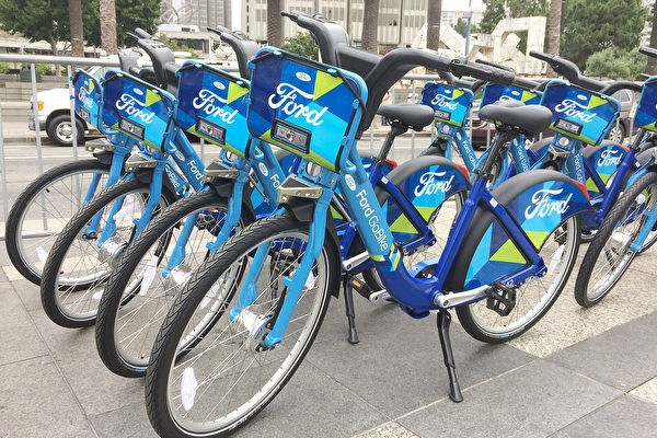 福特共享單車 落地舊金山灣區