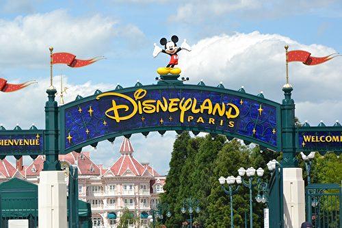 巴黎迪士尼乐园。(bunzellisa/CC/Pixabay)