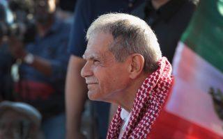 前恐怖分子利維拉的決定,讓紐約市的波多黎各日遊行終獲消停。 (Scott Olson/Getty Images)