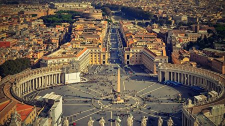 梵蒂冈城。(Walkerssk/CC/Pixabay)