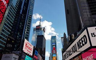 曼哈顿时代广场一景(作者提供)