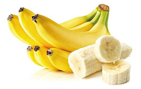 「香蕉」含有豐富的「鉀」,「鉀」對人體的「鈉」具有抑製作用。(Fotolia)