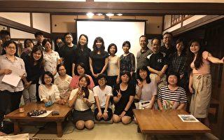 陳玉慧分享《海神家族》中的家族故事與文學。(宜蘭文化局提供)