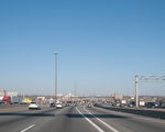 安省省警OPP表示,超速是车祸死亡的第一大杀手。图为401高速公路。(伊铃/大纪元)