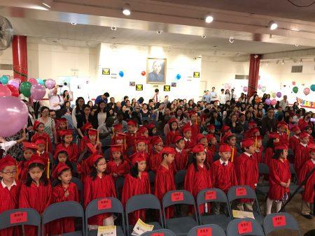 畢業典禮現場。