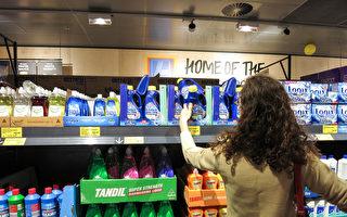 Aldi進駐西澳後,珀斯大超市的食物及日用品價格已由全澳第二貴降為第二便宜。圖為Aldi在Mirrabooka的門店。(高敏/大紀元)