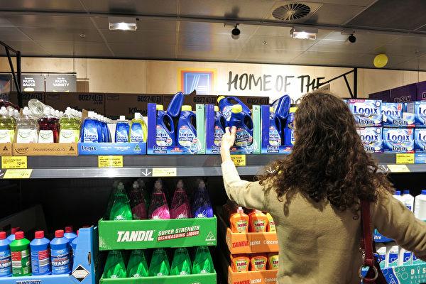 Aldi进驻西澳后,珀斯大超市的食物及日用品价格已由全澳第二贵降为第二便宜。图为Aldi在Mirrabooka的门店。(高敏/大纪元)
