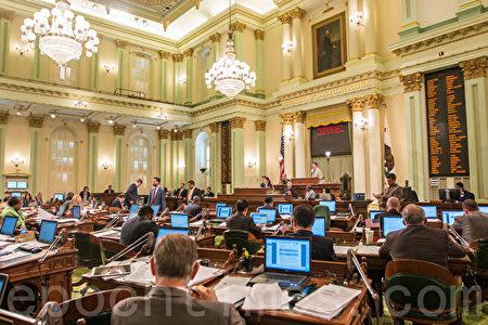 加州议会。(大纪元资料图)