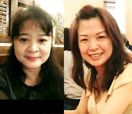 張鳳萍(左)和高雅卿(右)兩人參與雷神講座,樂在學習成長。(雷神講座提供)