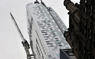 One57的79楼套房,成为全美最贵的银行拍卖屋。 (TIMOTHY CLARY/AFP/Getty Images)