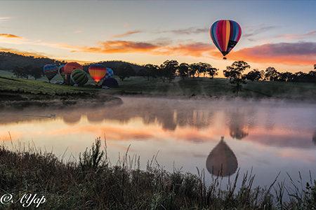 乘坐熱氣球看日出,是每個人一生都該享受的一次經歷(Go Wild提供)