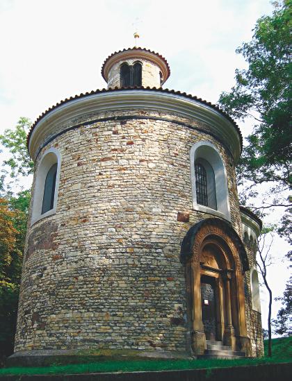 聖馬丁古圓屋。(《捷克經典》/柿子文化)